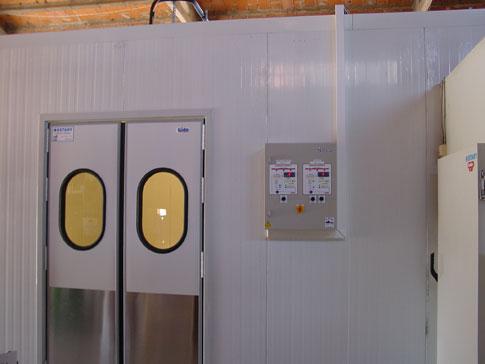 Paneles termicos para camaras de frio